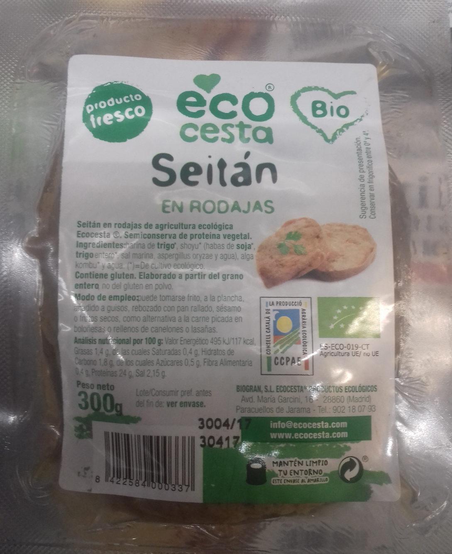 Seitán en rodajas - Producto - es