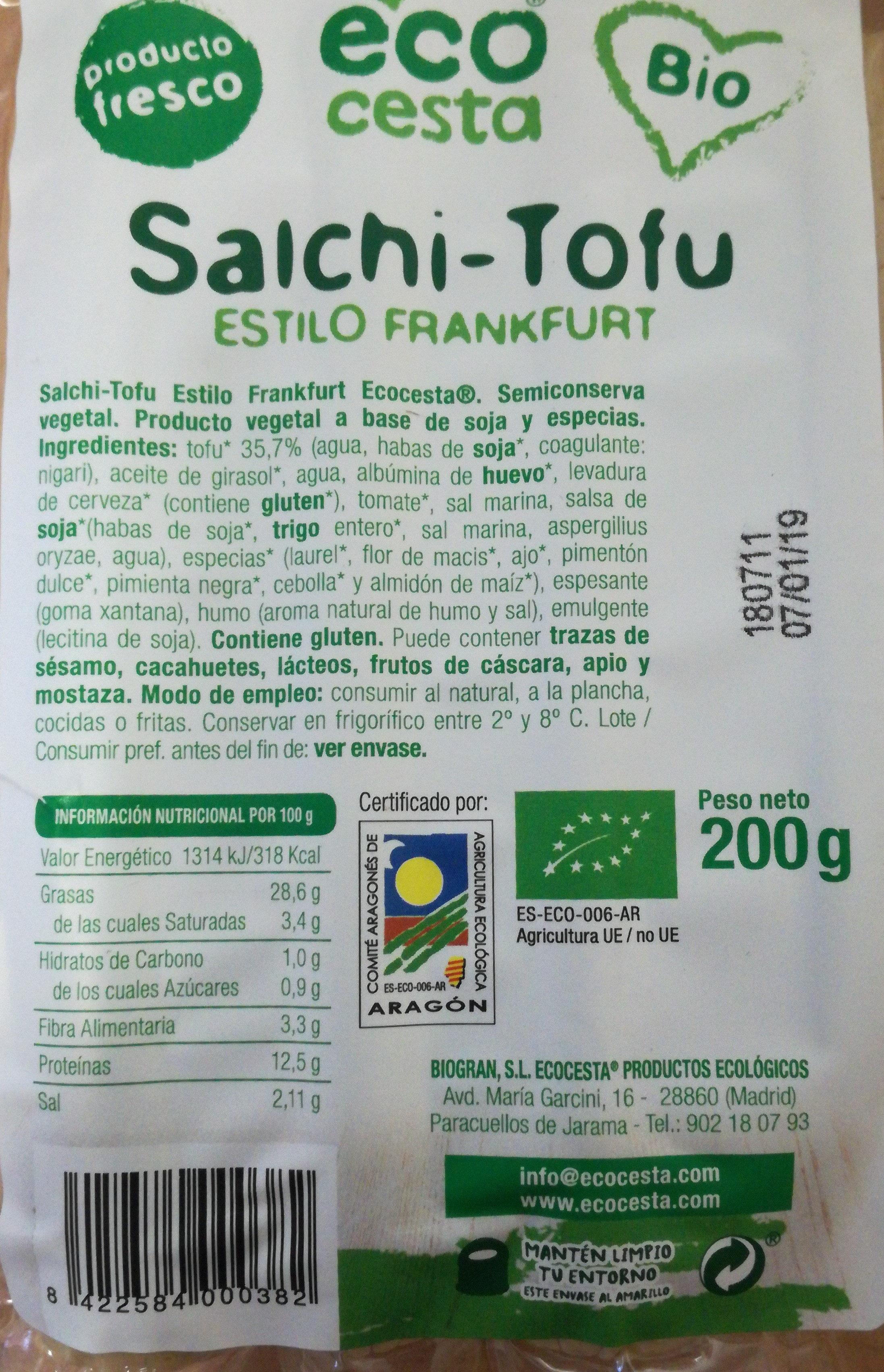 Salchi-Tofu - Producto - es