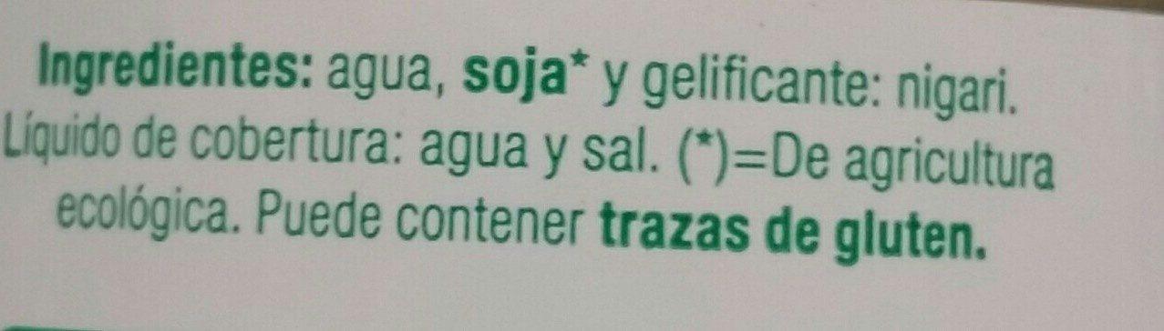 Tofu - Ingredients