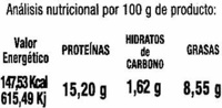 Tofu - Nutrition facts