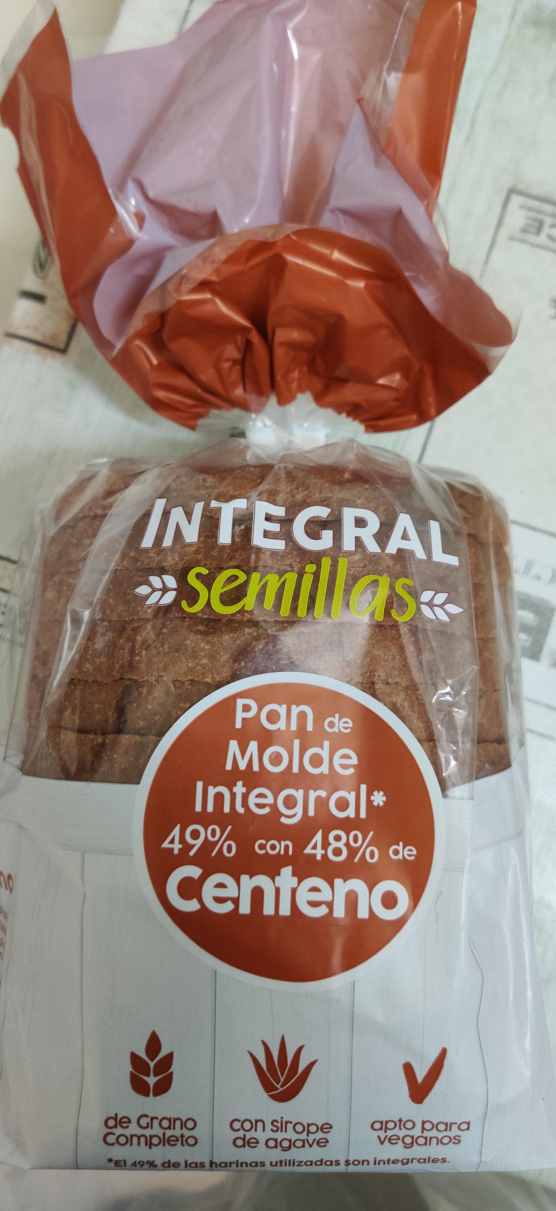 Pan de molde integral con centeno - Product - es