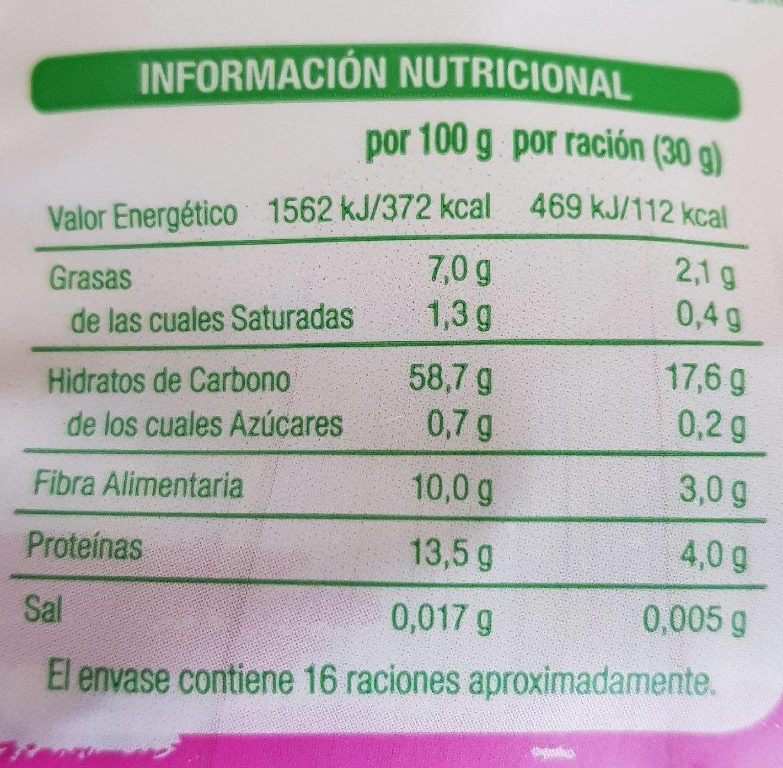 Copos de avena - Informations nutritionnelles - fr