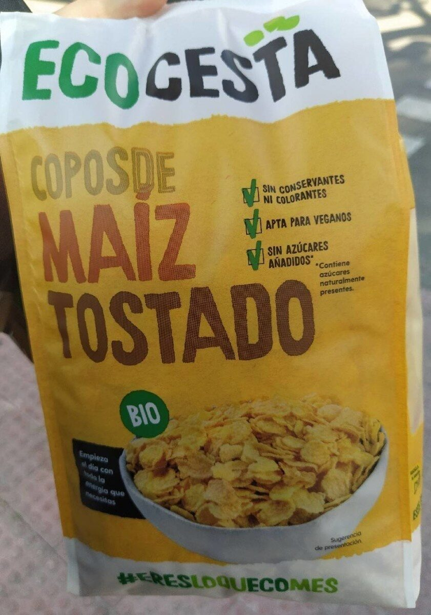 Copos de maíz tostado - Product - es