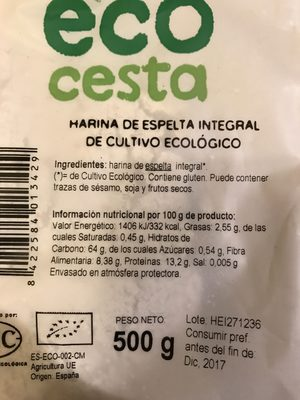 Harina de espelta integral - 4
