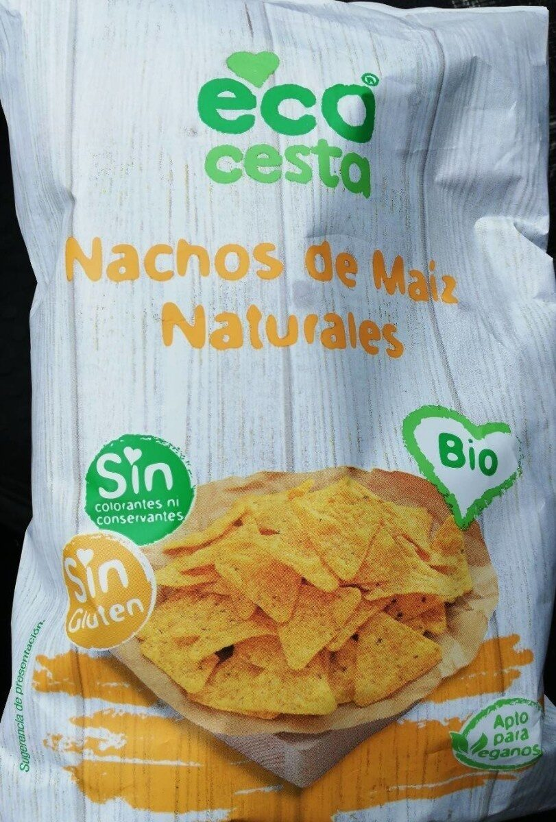 Nachos de maiz naturales - Producte - es