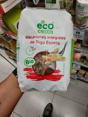 Macarrones integrales de trigo espelta - Product