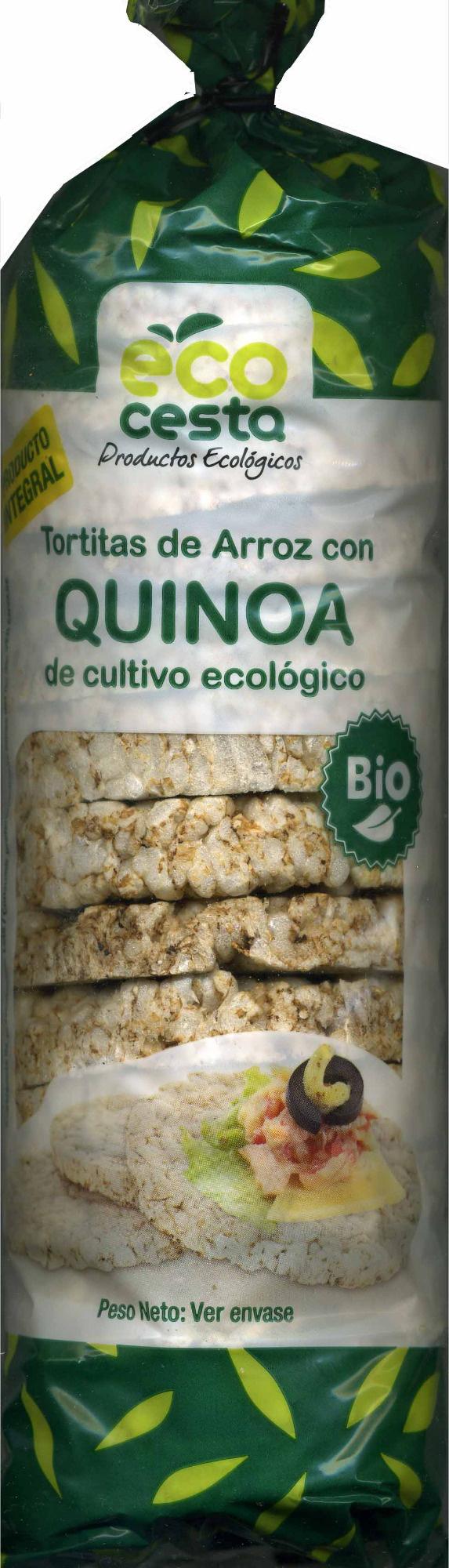 Tortitas de arroz con quinoa - Producto - es