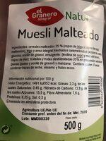 Muesli malteado - Product - es