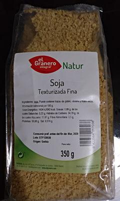 Soja Texturizada Fina - Producto