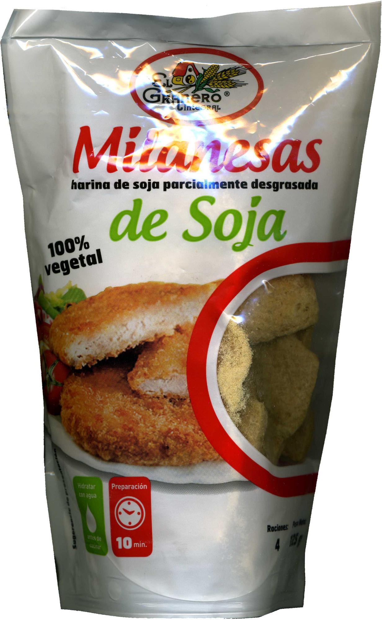 Milanesas de Soja - Product - es