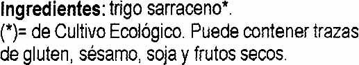 Trigo sarraceno - Ingredients - es