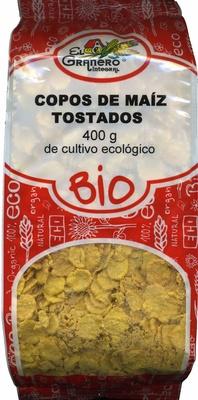 Copos de Maíz tostados de cultivo ecológico - Producto