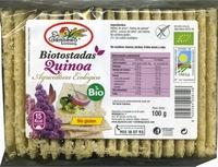 Bio tostadas con quinoa - Producto - es