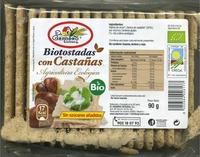 Biotostadas con castañas - Produit - es