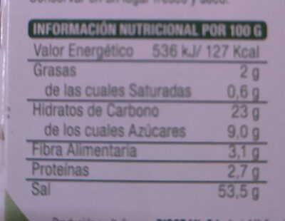 Caldo vegetal receta con miso - Nutrition facts - en