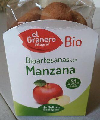 Galletas BioArtesanas con Manzana - Product - es