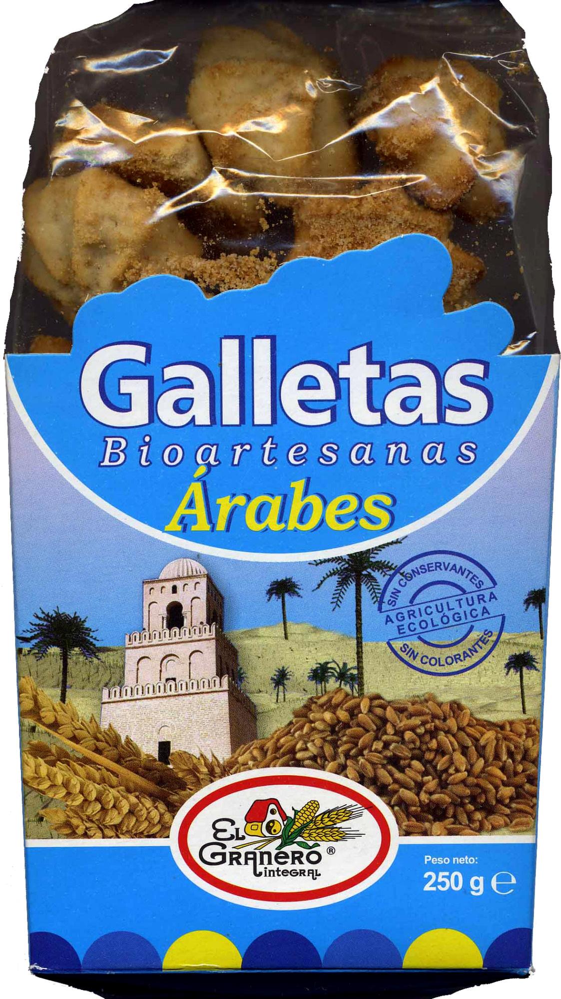 Galletas bioartesanas árabes - Producte - es