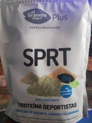 Bio plus sprt proteína de guisante, cáñamo y