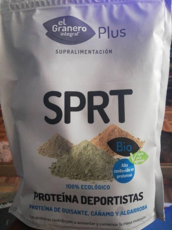 Bio plus sprt proteína de guisante, cáñamo y - Product