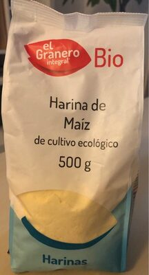 Harina de Maíz de cultivo ecológico - Producto - es