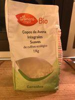 Bio copos de avena suave integral ecológicos - Product - es
