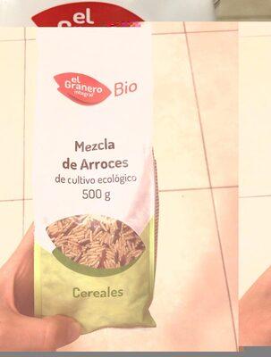 Mezcla de arroces de cultivo ecológico - Ingredients