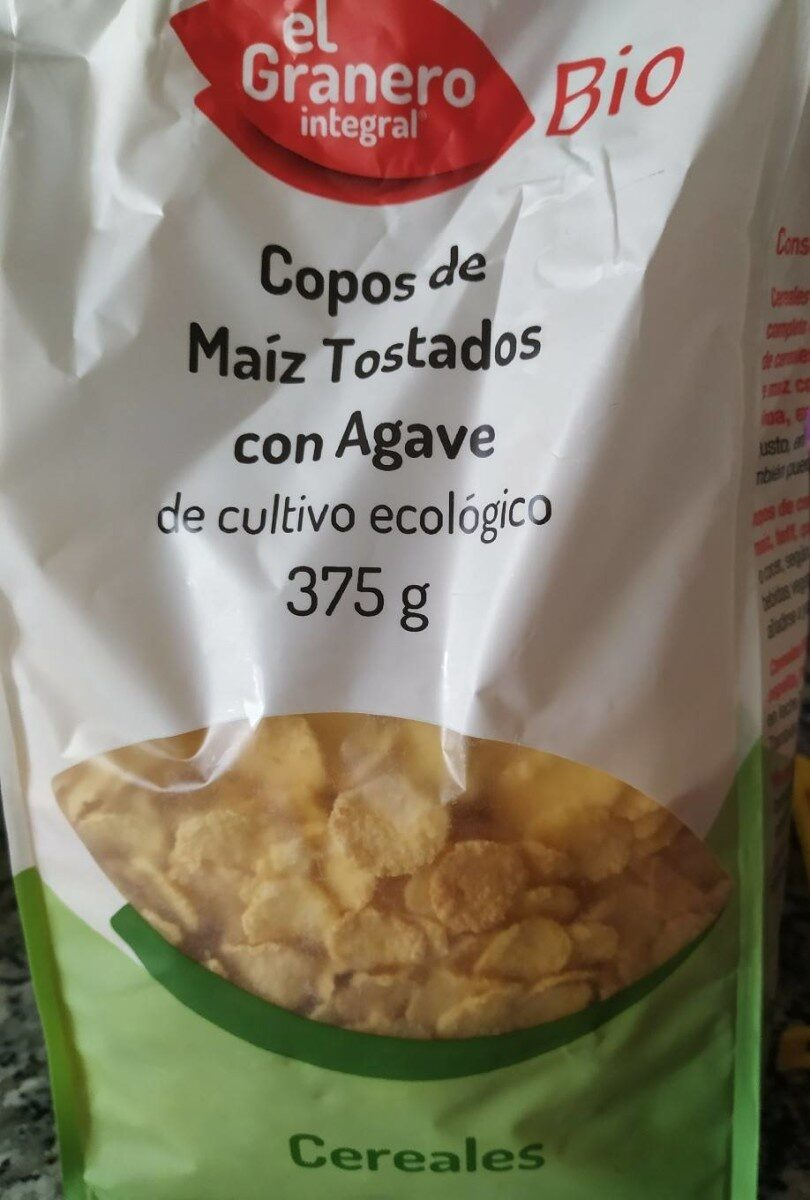 Copos de maíz tostado con Agave - Product
