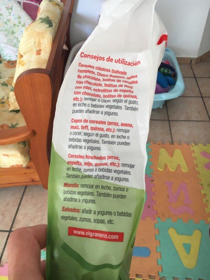 Bolitas de quinoa con agave y cacao - Ingredients