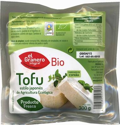 Tofu estilo japonés de agricultura ecológica - Producto - es