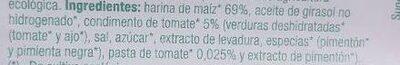 Rolls sabor Tomate - Ingredients