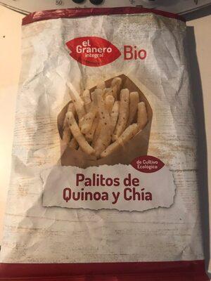 Bio palitos de quinoa y chía de cultivo ecológico - Product