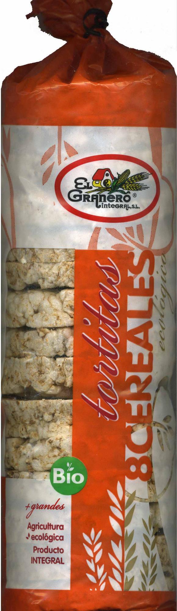 Tortitas con 8 cereales - Produit - es