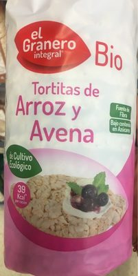 Tortitas Arroz Avena - Produit - fr