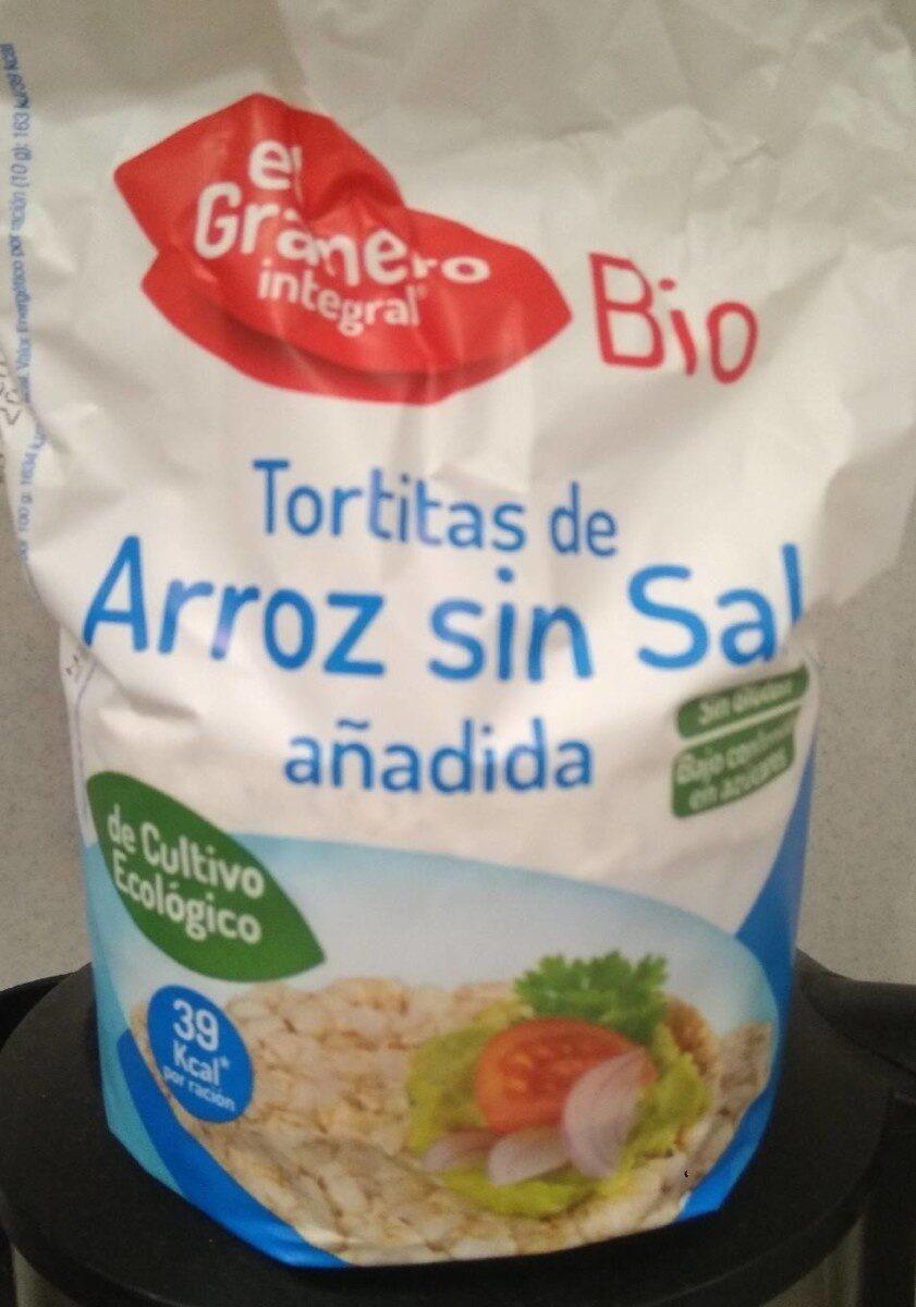 Tortitas de arroz sin sal - Product