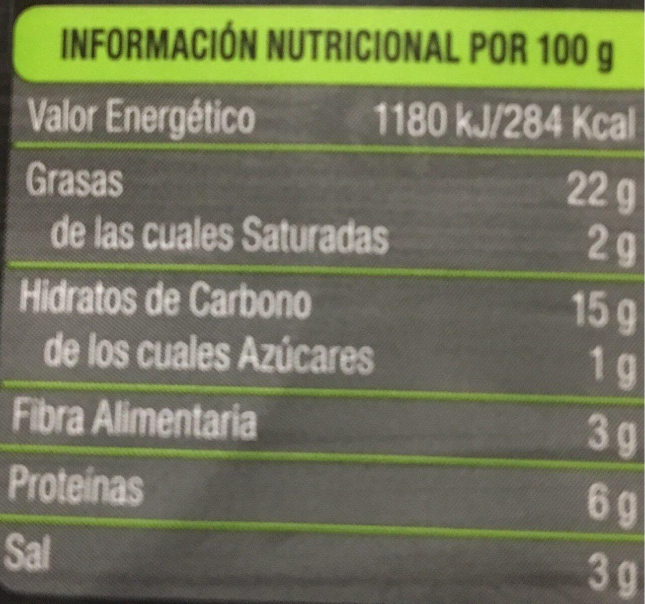 Salchi-veggie Vienesas - Nutrition facts