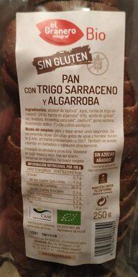 pan con trigo sarraceno y algarroba - Producto - es
