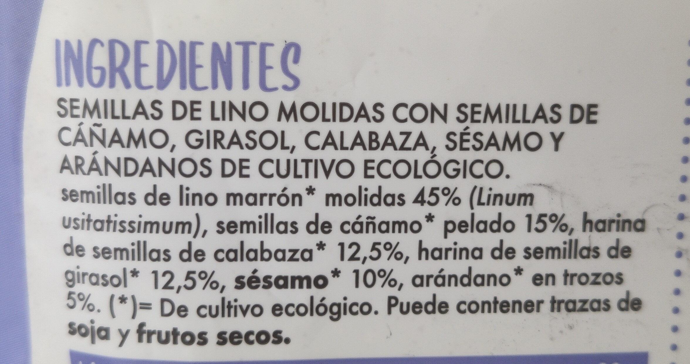 Vita seeds - Ingredients - es