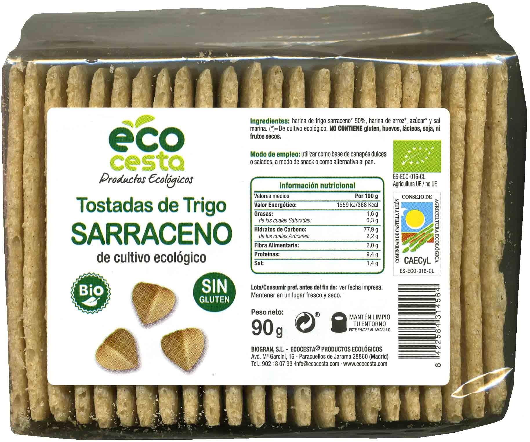 Tostadas de trigo sarraceno - Product