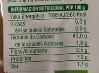 Baguette con trigo sarraceno - Información nutricional - es