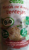 Tortitas de arroz y Lentejas - Product