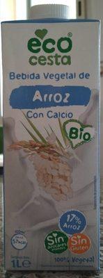 Bebida vegetal de arroz con calcio - Producto