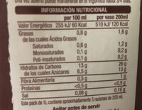 Bebida vegetal Arroz y Coco - Ingredientes