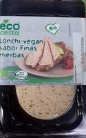 Lonchi-vegan sabor finas hierbas - Producto - es