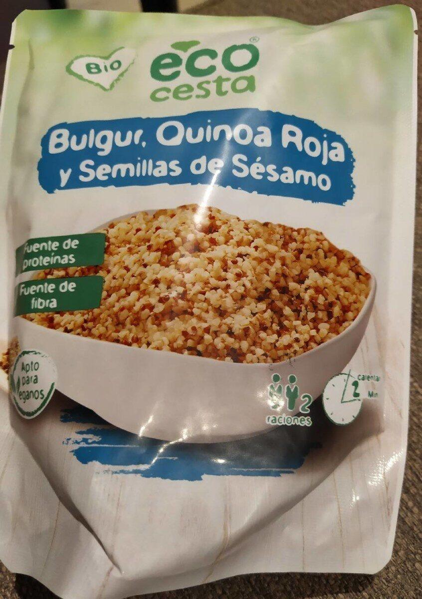Bulgur, quinoa roja y semillas de sésamo - Product - es