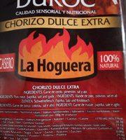Chorizo dulce extra - Ingrédients