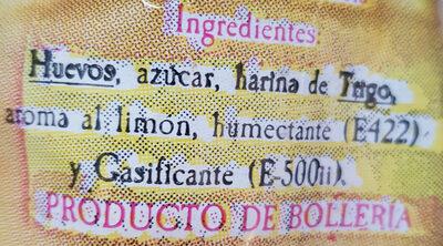 Tortas de Alcázar - Ingrédients - es