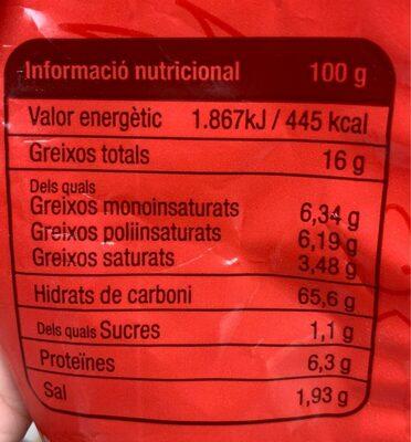 Galletó de mallorca classiques - Informations nutritionnelles - es