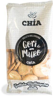 Galleta mallorquina de chia - Produit - es