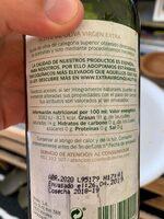 Oda a Nuestra Tierra nº 7 aceite de oliva virgen extra sabor equilibrado botella 500 ml - Ingrédients - es
