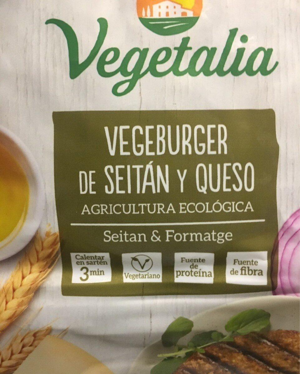 Vegeburguer de seitan y queso - Producte
